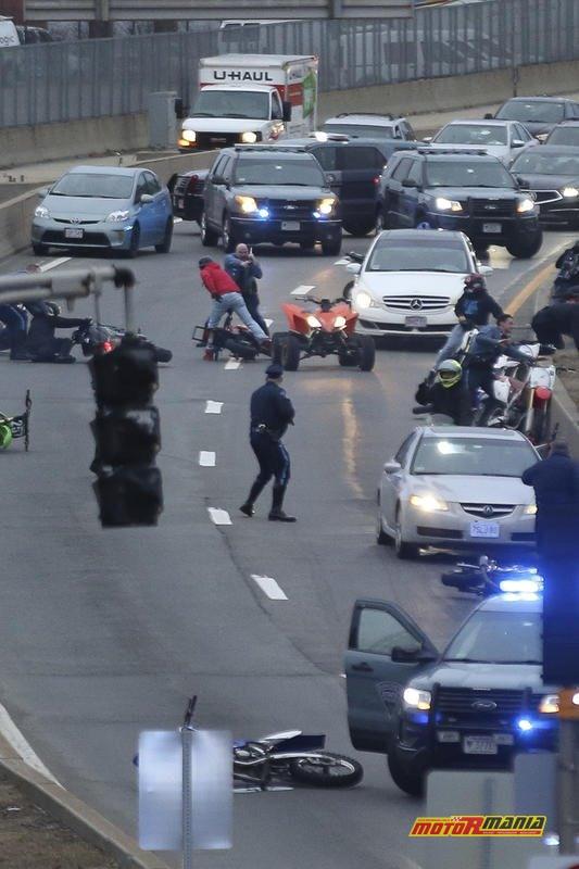Boston motocykle policja obława (2) - fot Nicolaus Czarnecki