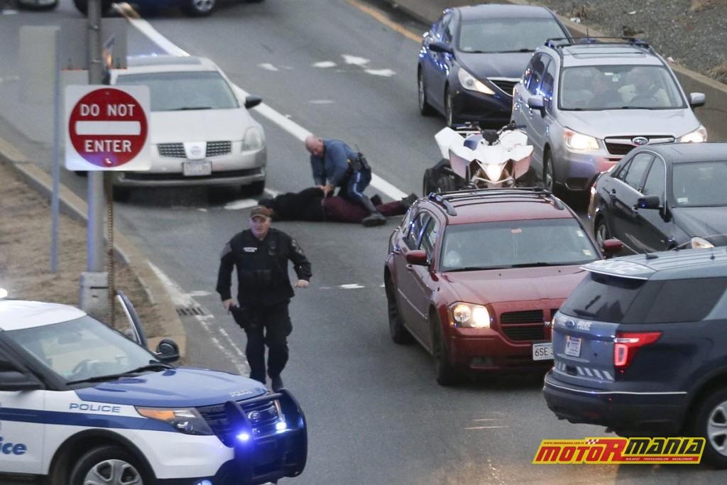 Boston motocykle policja obława (5) - fot Nicolaus Czarnecki