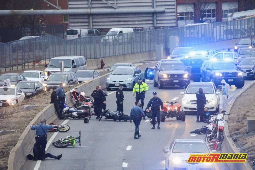 Boston motocykle policja obława (7) - fot Nicolaus Czarnecki