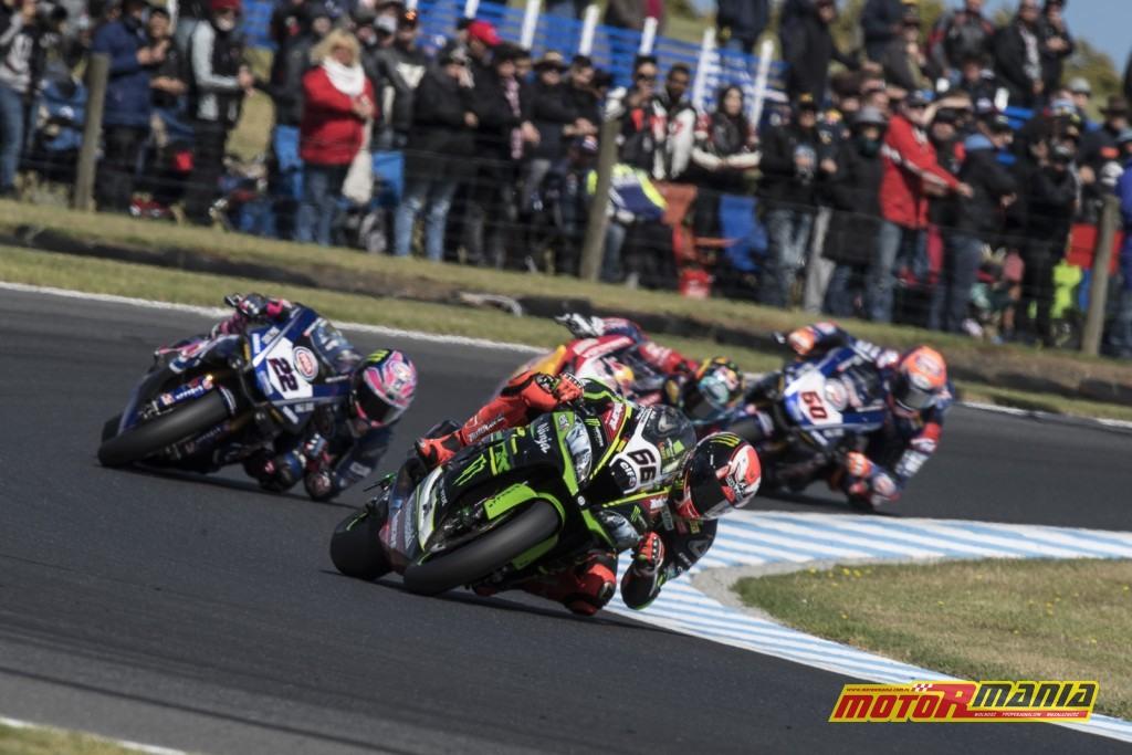 W Australii Kawasaki złapało zadyszkę, jak będzie tym razem? - foto: Kawasaki