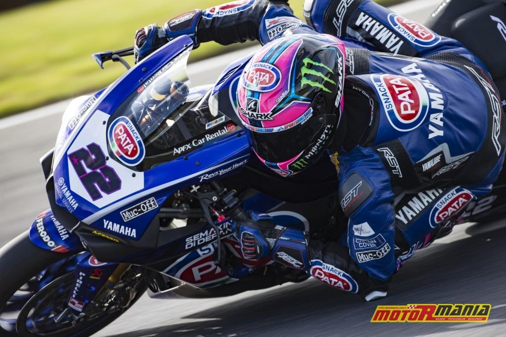 Lowes chce wrócić na podium - foto: Yamaha