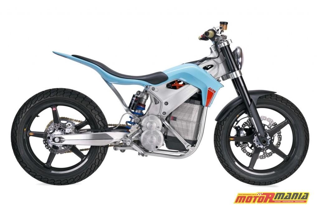 Alta Motors ST Street Tracker Concept - model koncepcyjny zaprezentowany w styczniu 2018