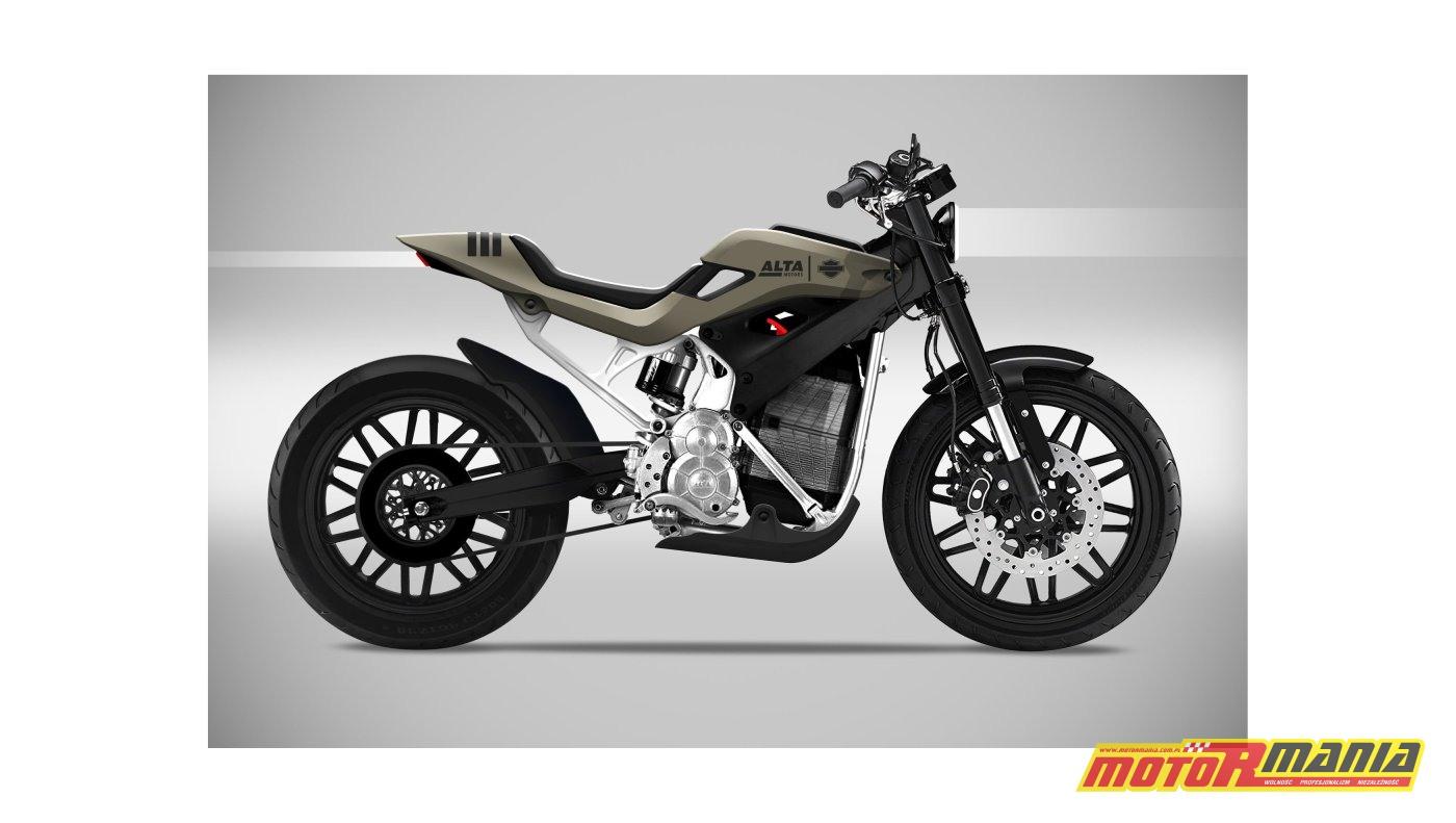 Street Tracker Concept od Carbon Project - Harley i Alta Motors — kopia