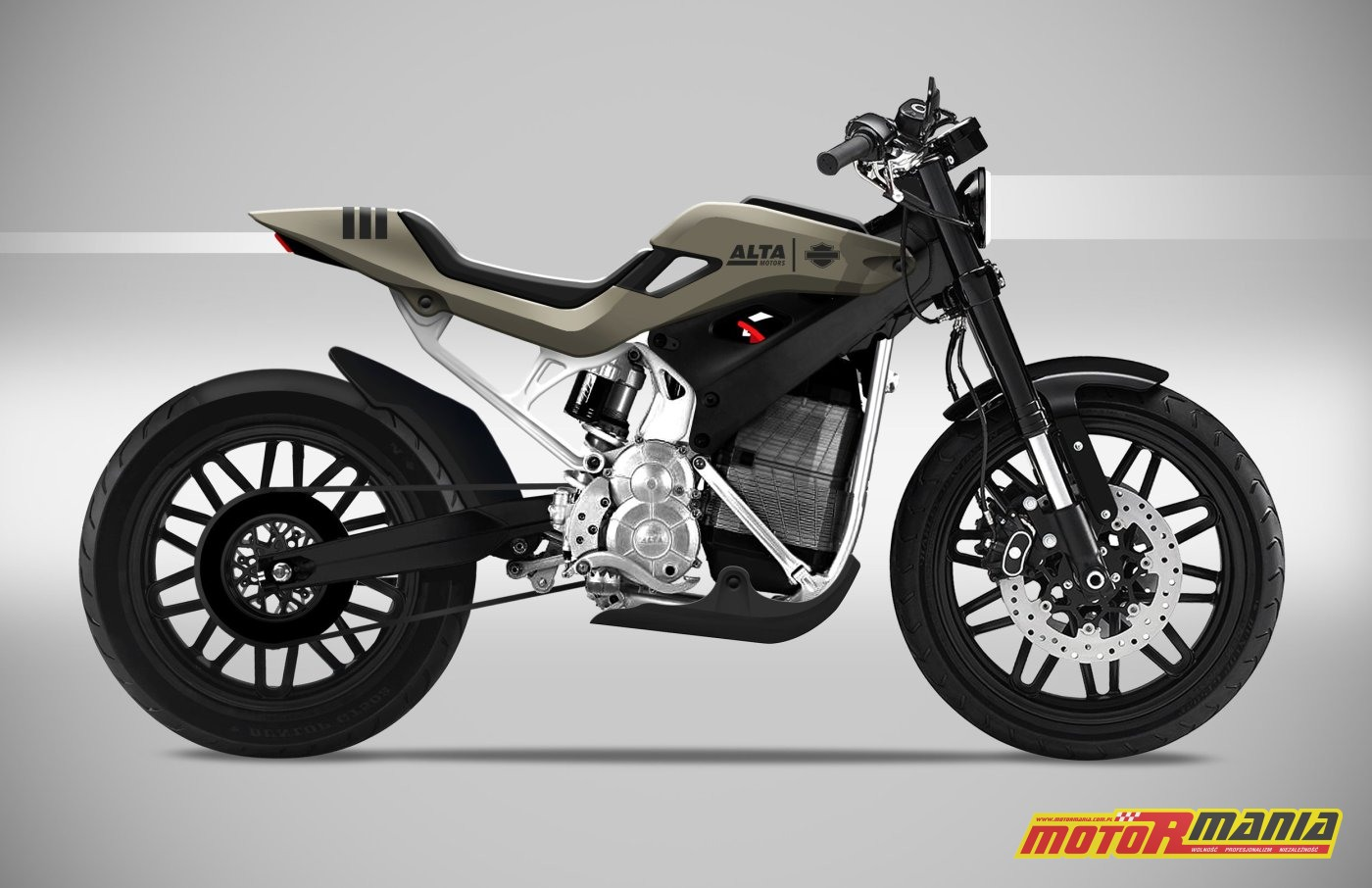 Street Tracker Concept od Carbon Project - Harley i Alta Motors