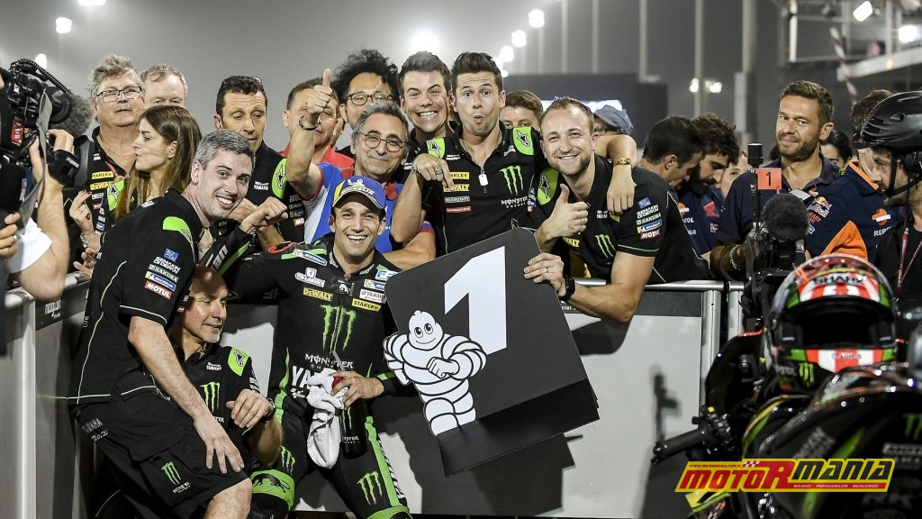 W Katarze Zarco zgarnął pole position - foto: Monster Yamaha Tech 3