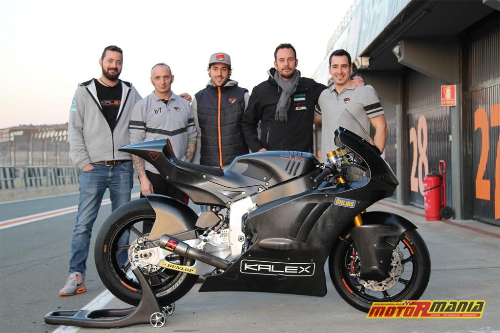 Ekipa Kalexa z nowym motocyklem Moto2 na sezon 2019