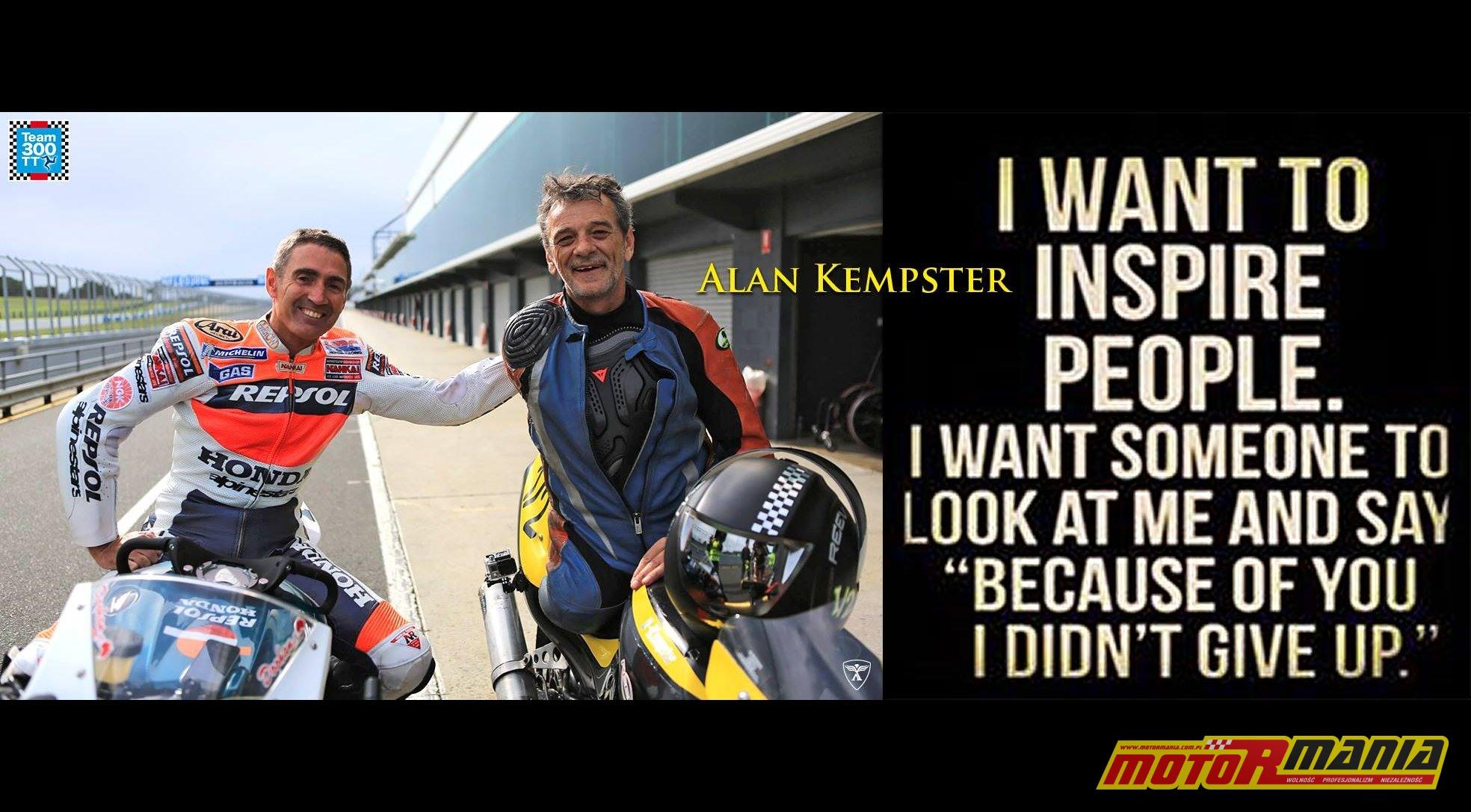 Alan Kempster i Mick Doohan.