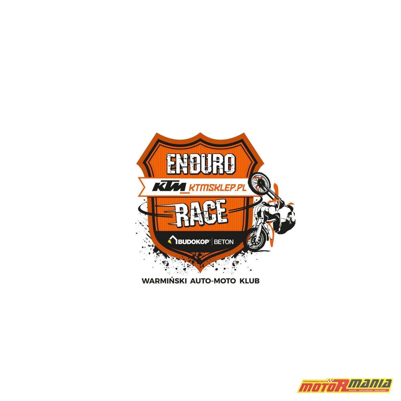 KTMSKLEP ENDURO RACE logo 2018 na bieli
