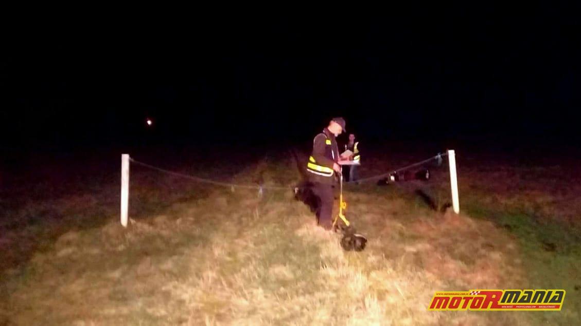 Miejsce wypadku. Fot: WCJ24.pl