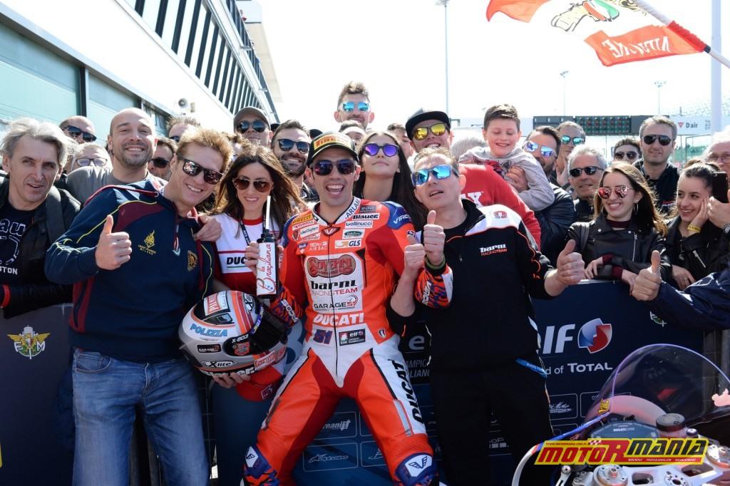Pirro wygrywa w Superbike'ach - zdjęcia: civ.tv