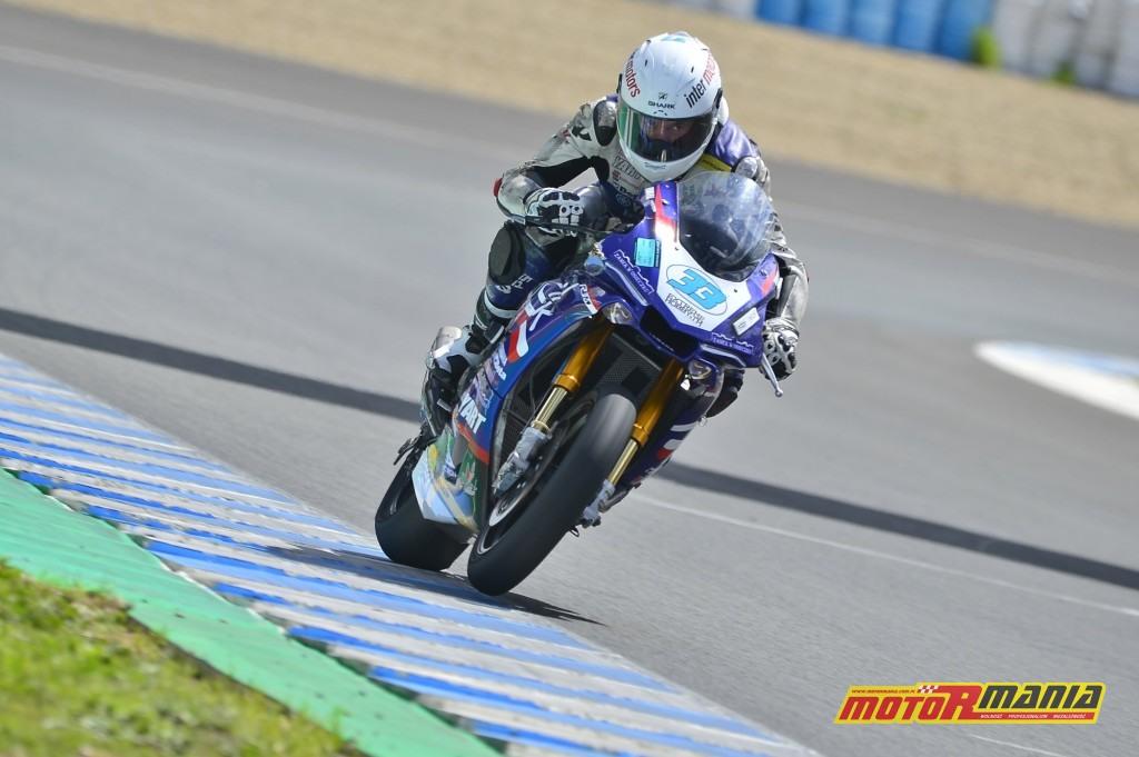 Marek Szkopek zadebiutuje w klasie Superbike