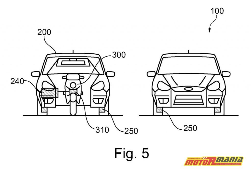 Ford motocykl samochód patent (1)