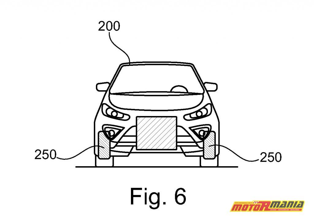 Ford motocykl samochód patent (2)