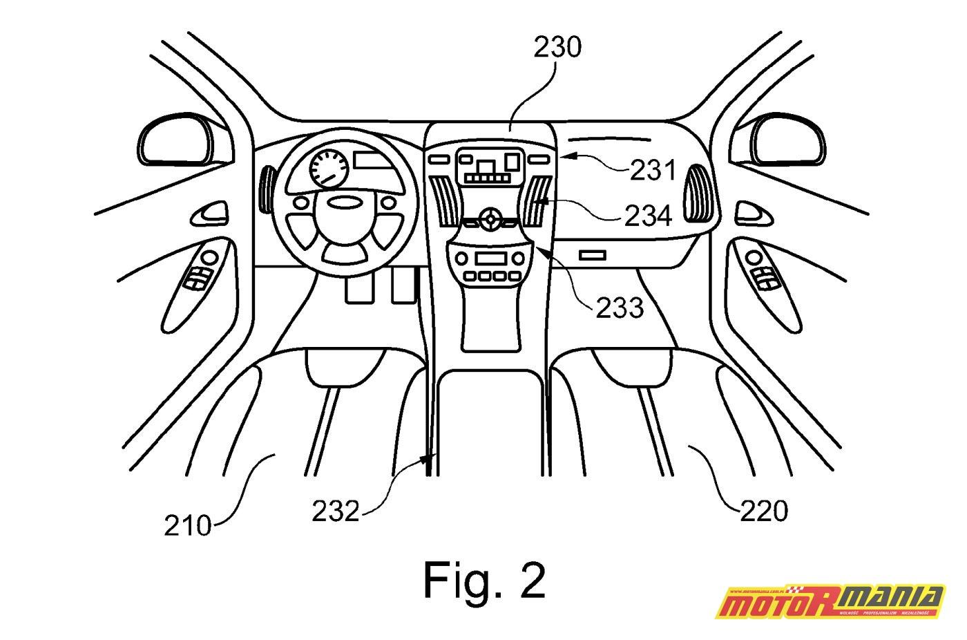 Ford motocykl samochód patent (4)