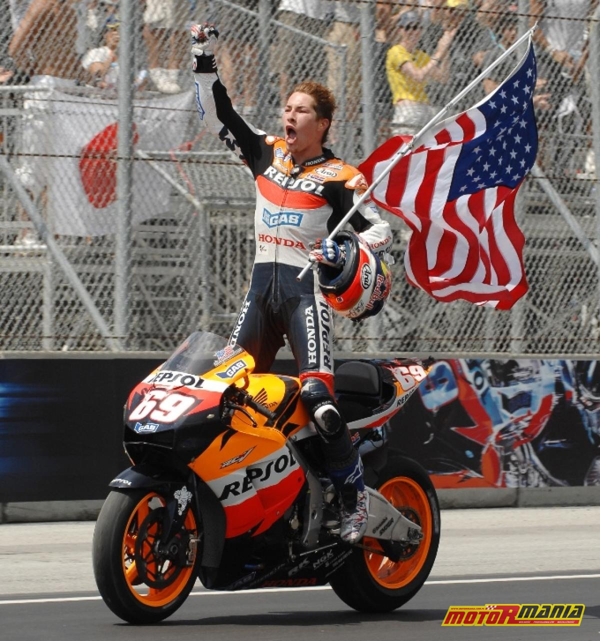 Nicky Hayden Laguna Seca 2006