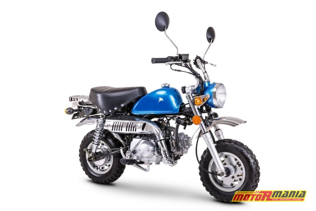 Pony Mini 50 - retro motorynka na 2018