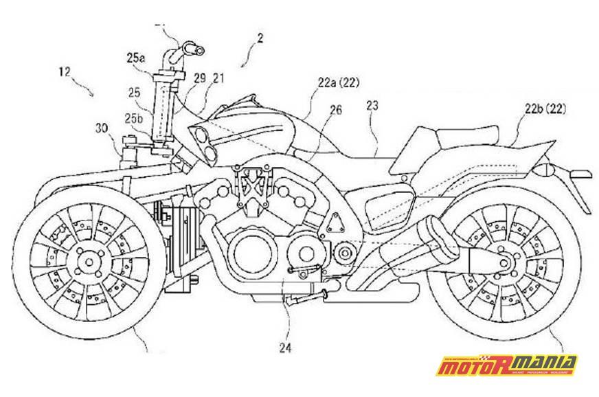 Vmax trzykołowy Yamaha LMW (2)