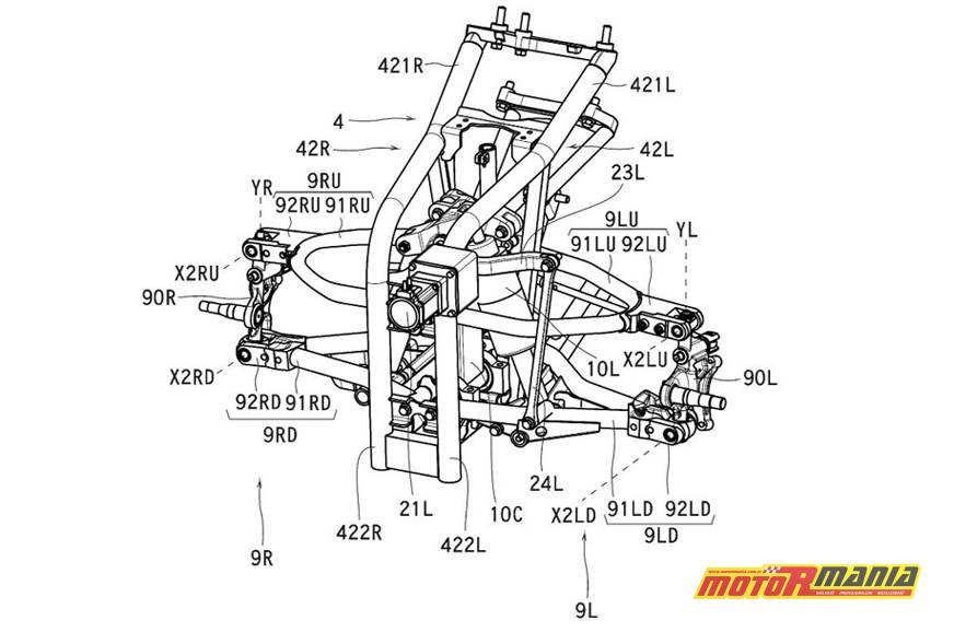 Vmax trzykołowy Yamaha LMW (4)