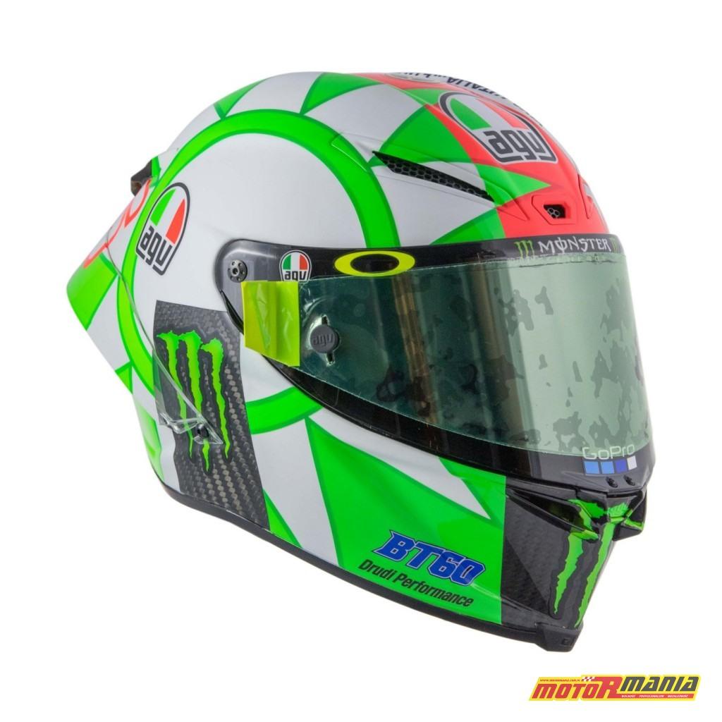 AGV Pista GP R Mugello 2018 kask Valentino Rossiego MotoGP (10)