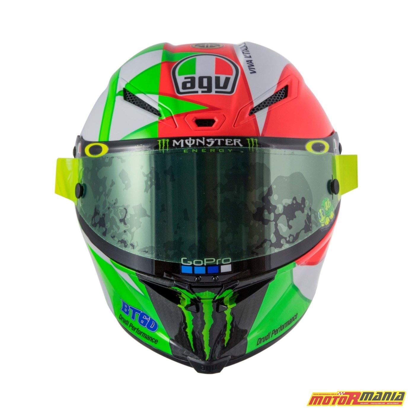 AGV Pista GP R Mugello 2018 kask Valentino Rossiego MotoGP (11)