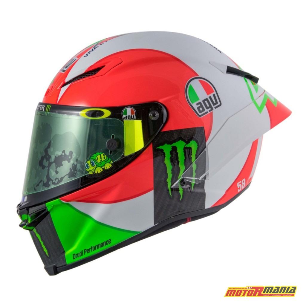 AGV Pista GP R Mugello 2018 kask Valentino Rossiego MotoGP (2)