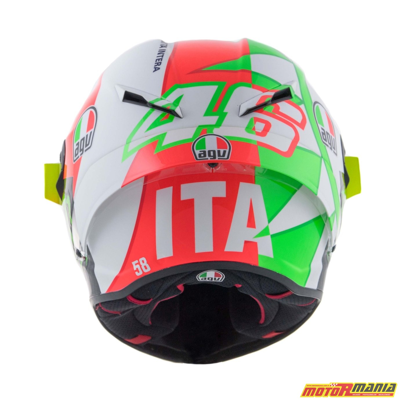 AGV Pista GP R Mugello 2018 kask Valentino Rossiego MotoGP (3)
