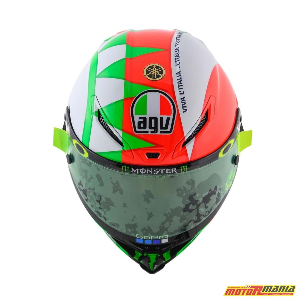 AGV Pista GP R Mugello 2018 kask Valentino Rossiego MotoGP (5)