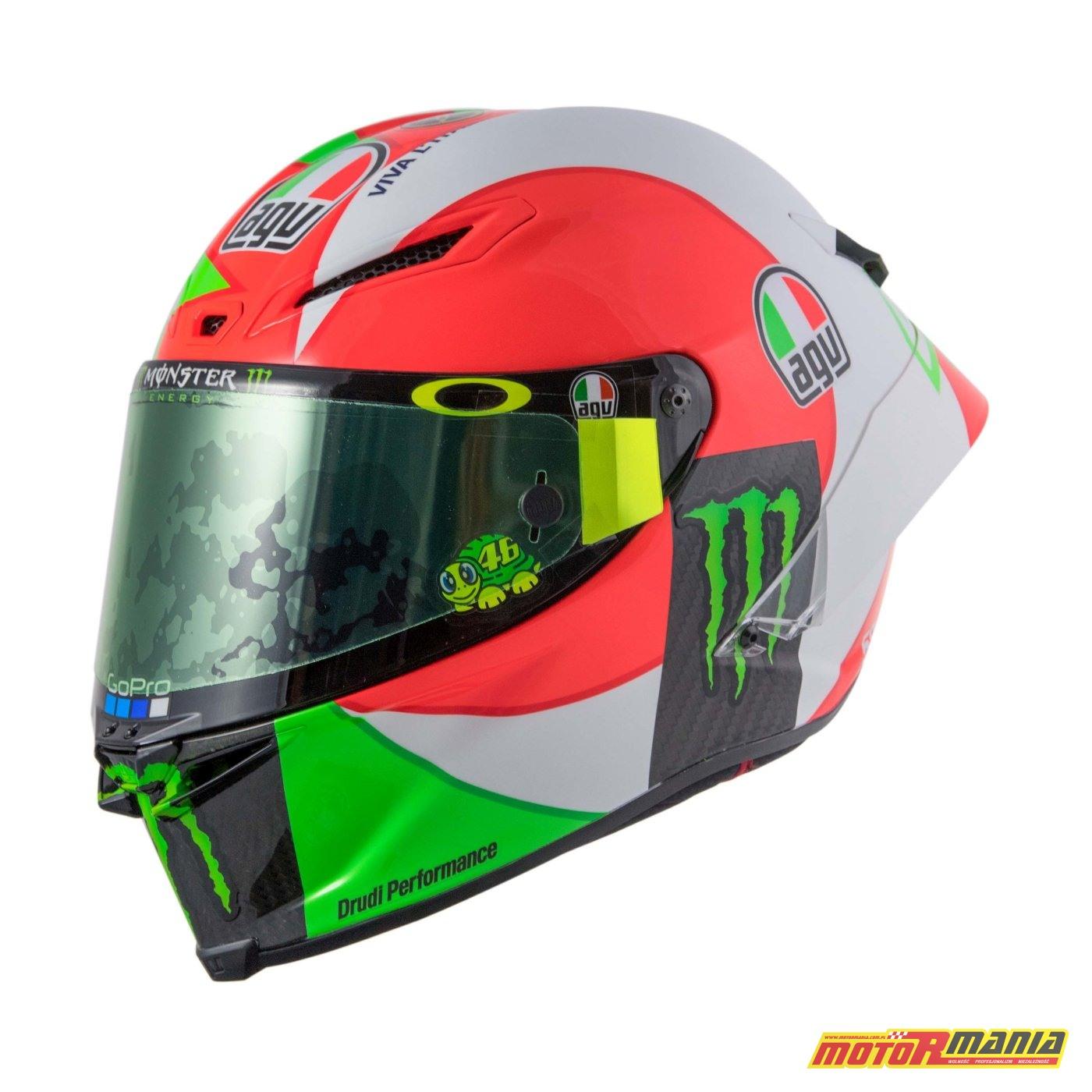AGV Pista GP R Mugello 2018 kask Valentino Rossiego MotoGP (7)