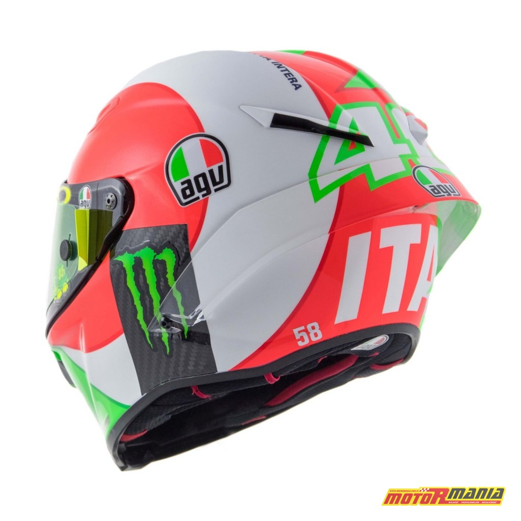 AGV Pista GP R Mugello 2018 kask Valentino Rossiego MotoGP (8)