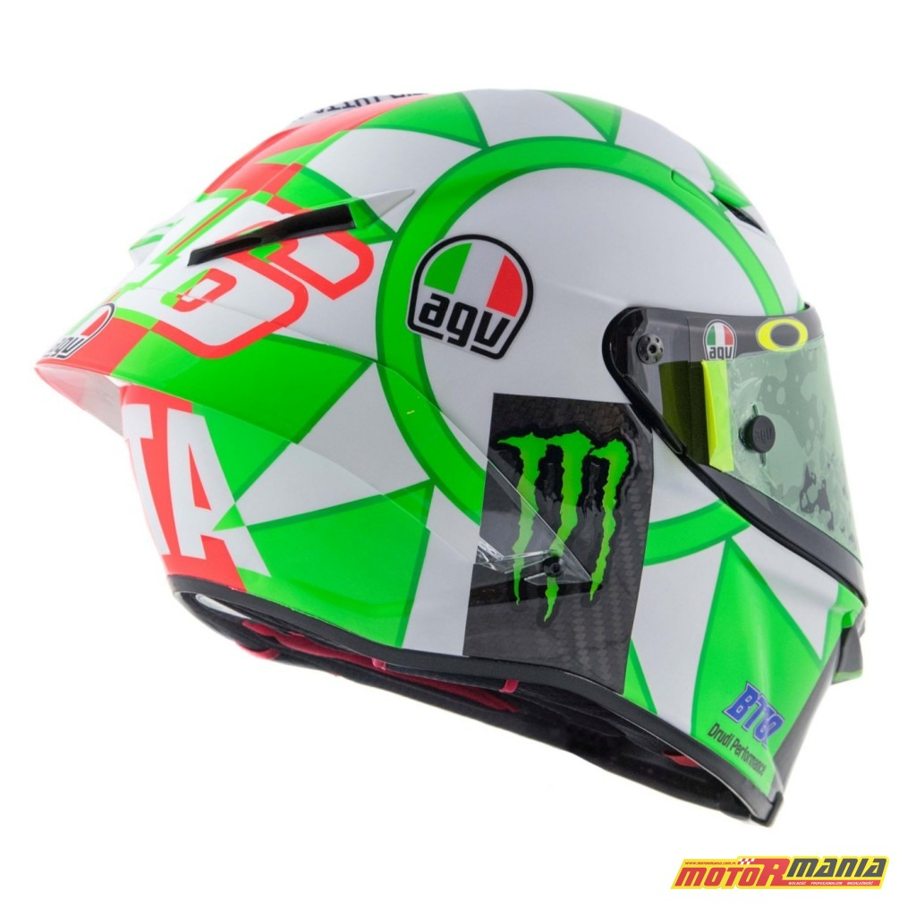 AGV Pista GP R Mugello 2018 kask Valentino Rossiego MotoGP (9)