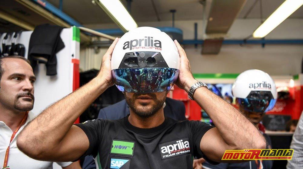 Aprilia MotoGP AR kaski mechanikow rozszerzona rzeczywistość (1)