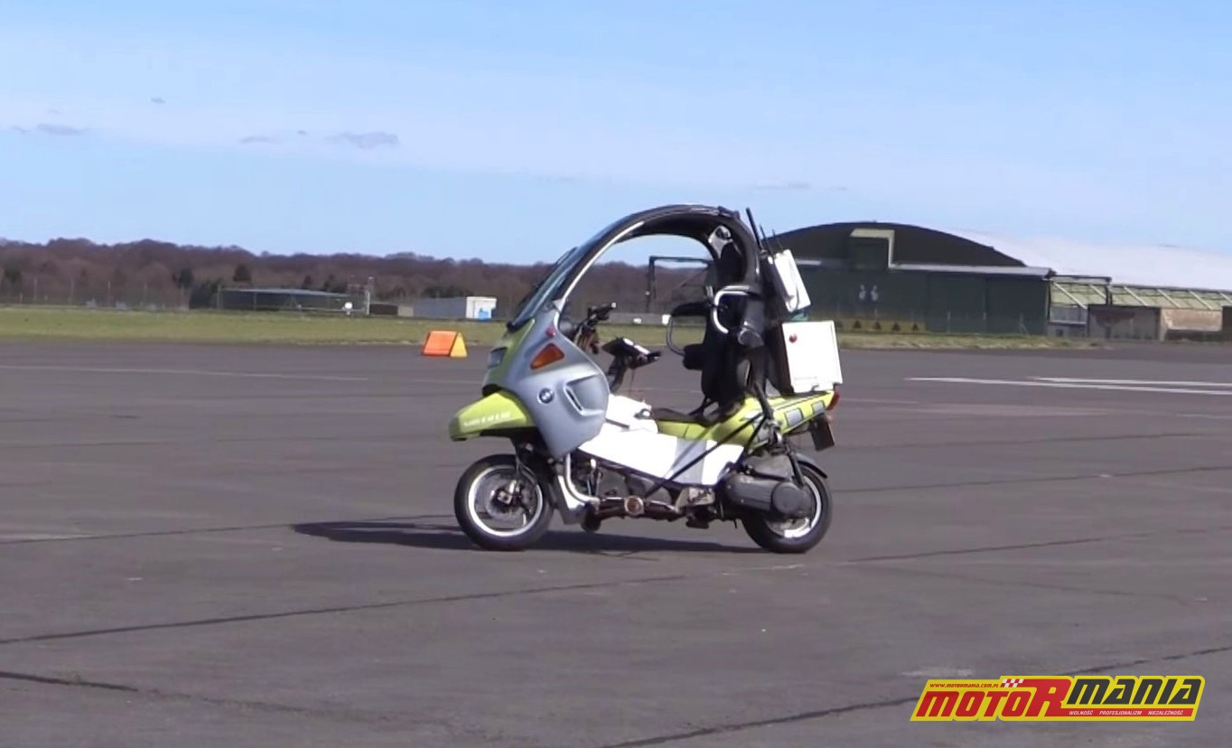 BMW C1 bez kierowcy AB Dynamics