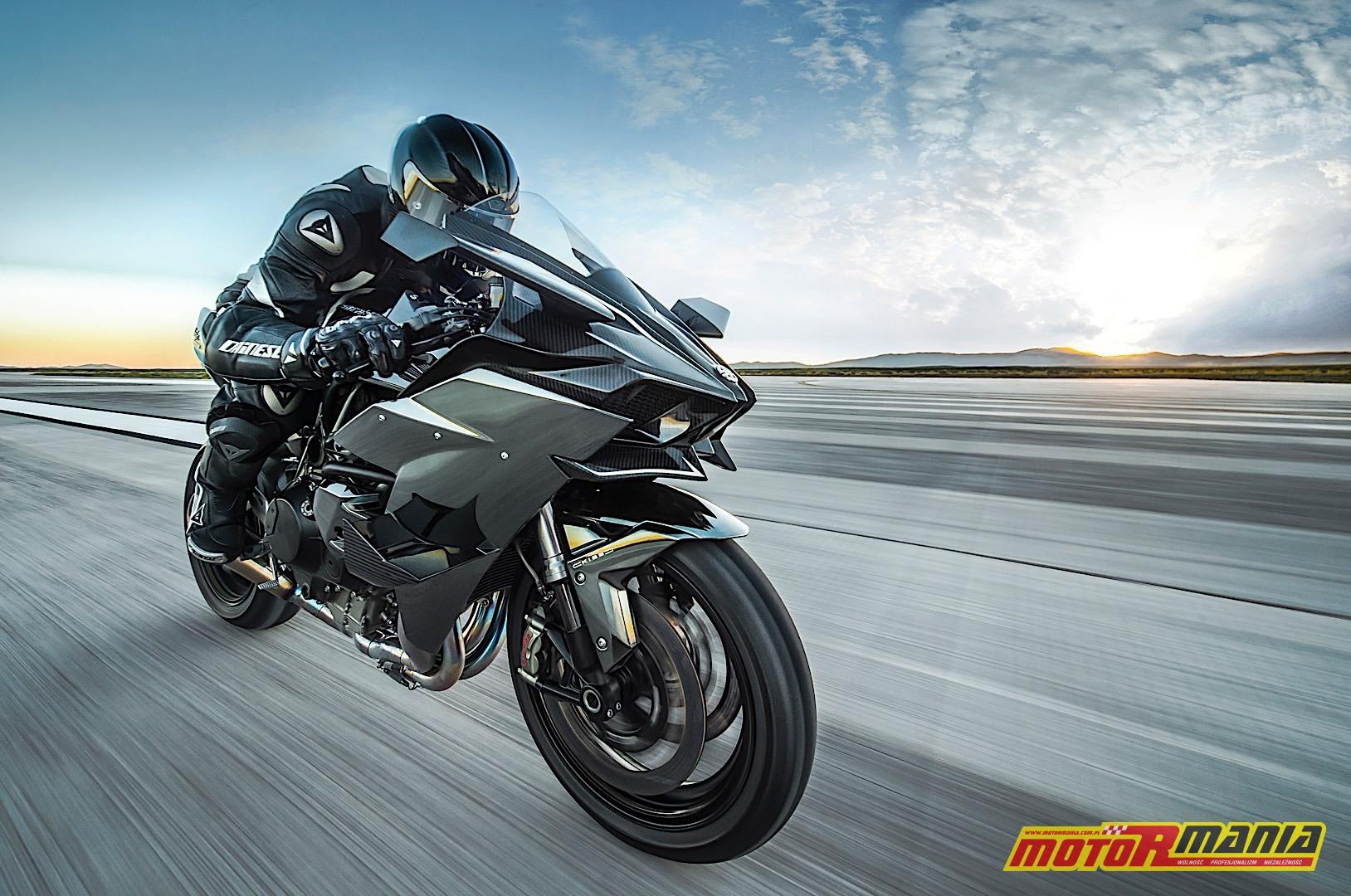 Kawasaki Ninja H2R skrzydla