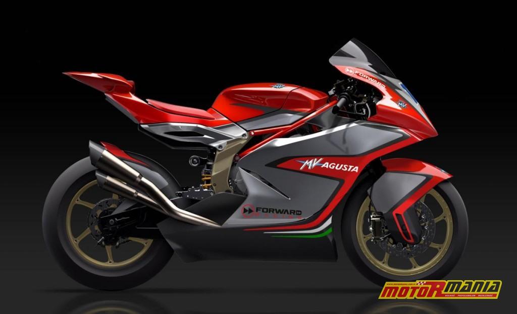 Pierwsze oficjalne zdjęcie nowej MV Agusty do Moto2.