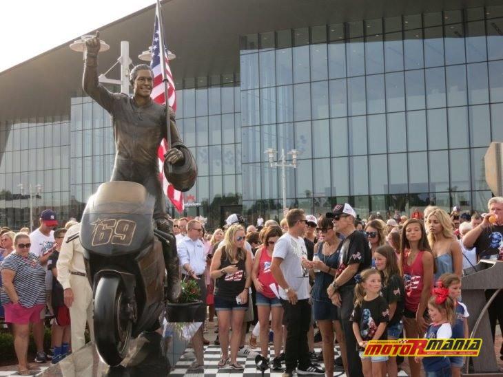 Nicky Hayden pomnik w Owensboro Kentucky (2)