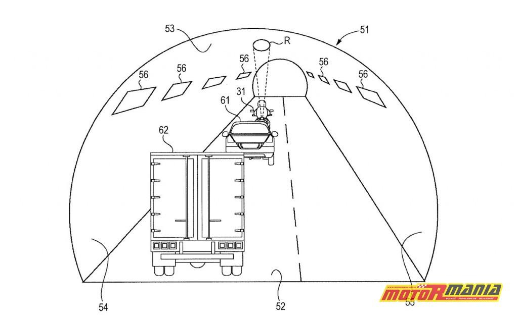 Suzuki patent reflektor słup światła (2)