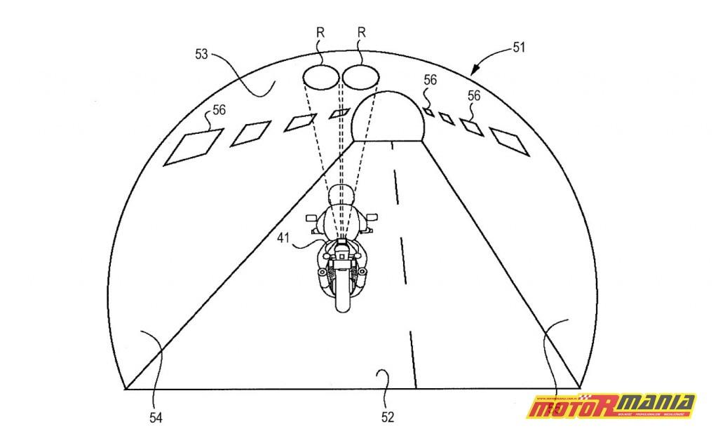 Suzuki patent reflektor słup światła (4)