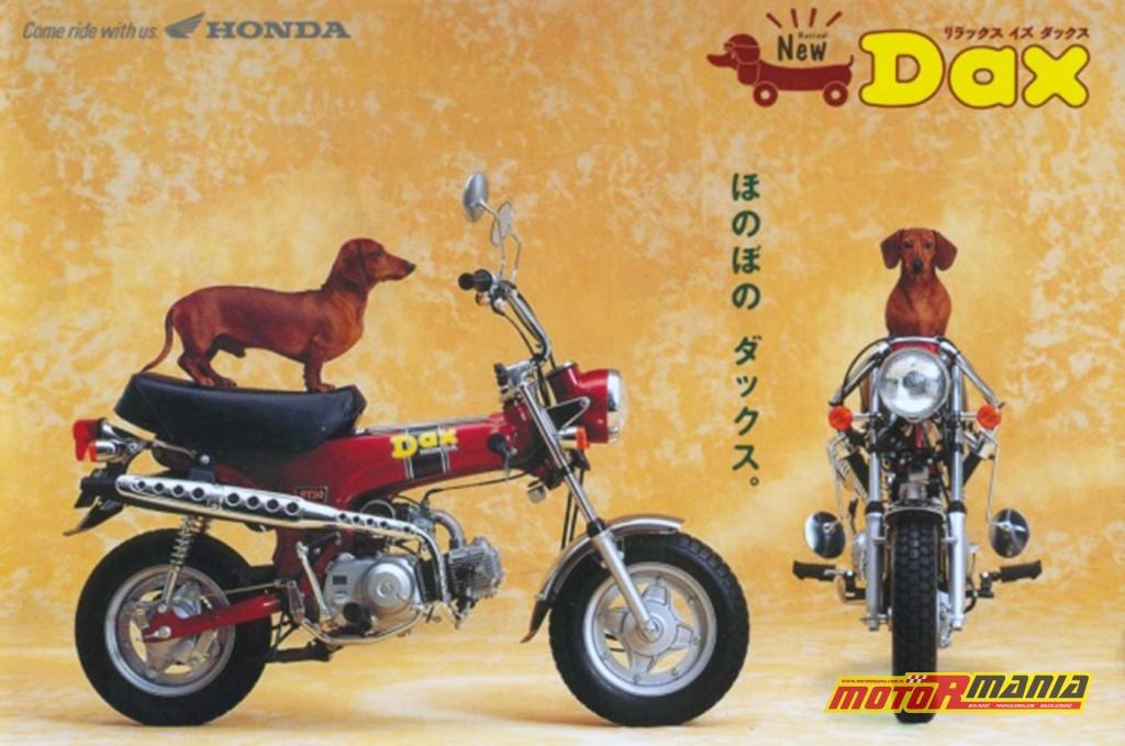 W Japonii małą Honde nazywano Jamnikiem