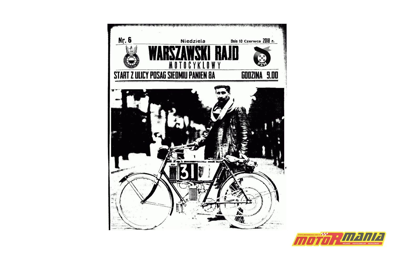 warszawski rajd motocyklowy mini