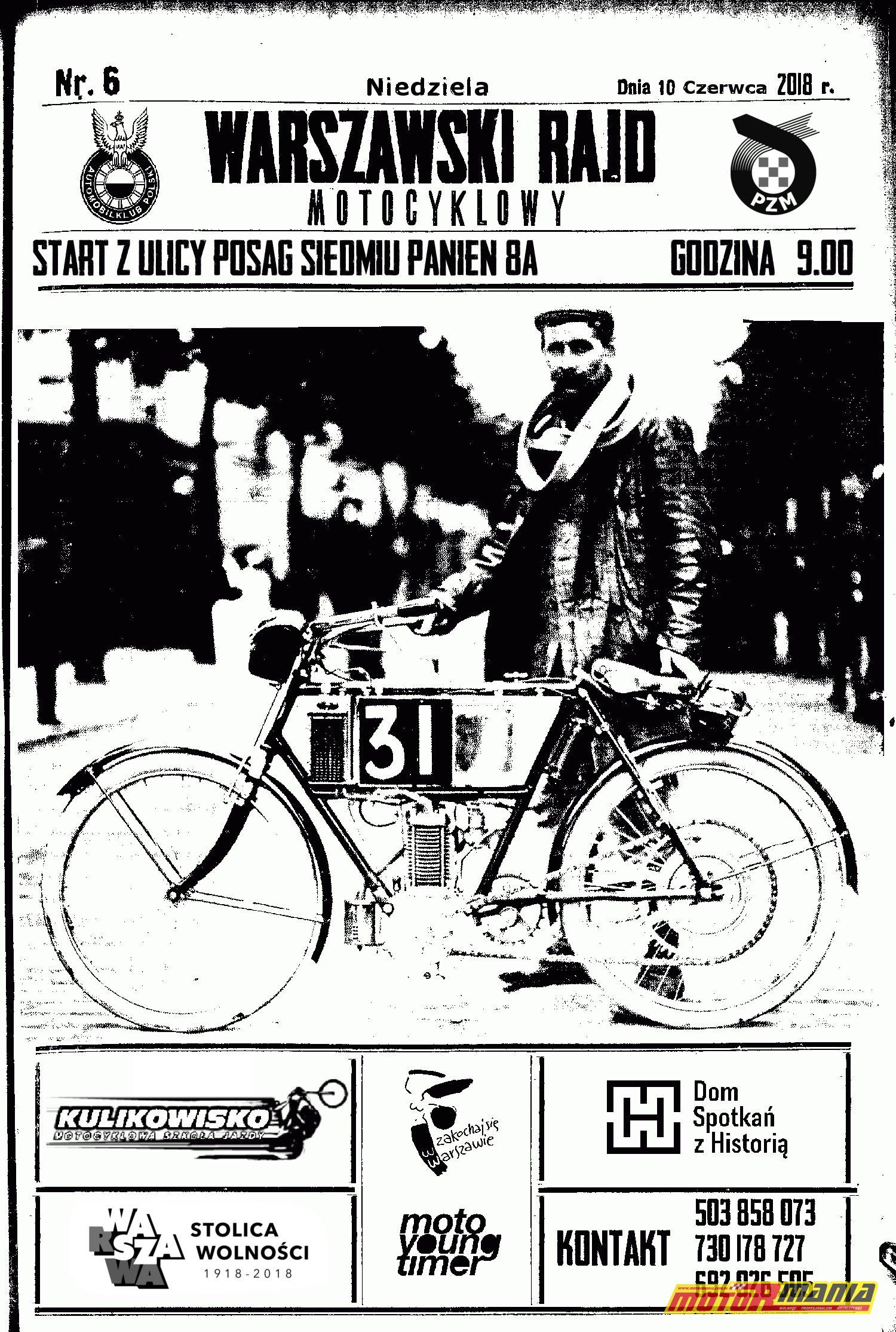 warszawski rajd motocyklowy