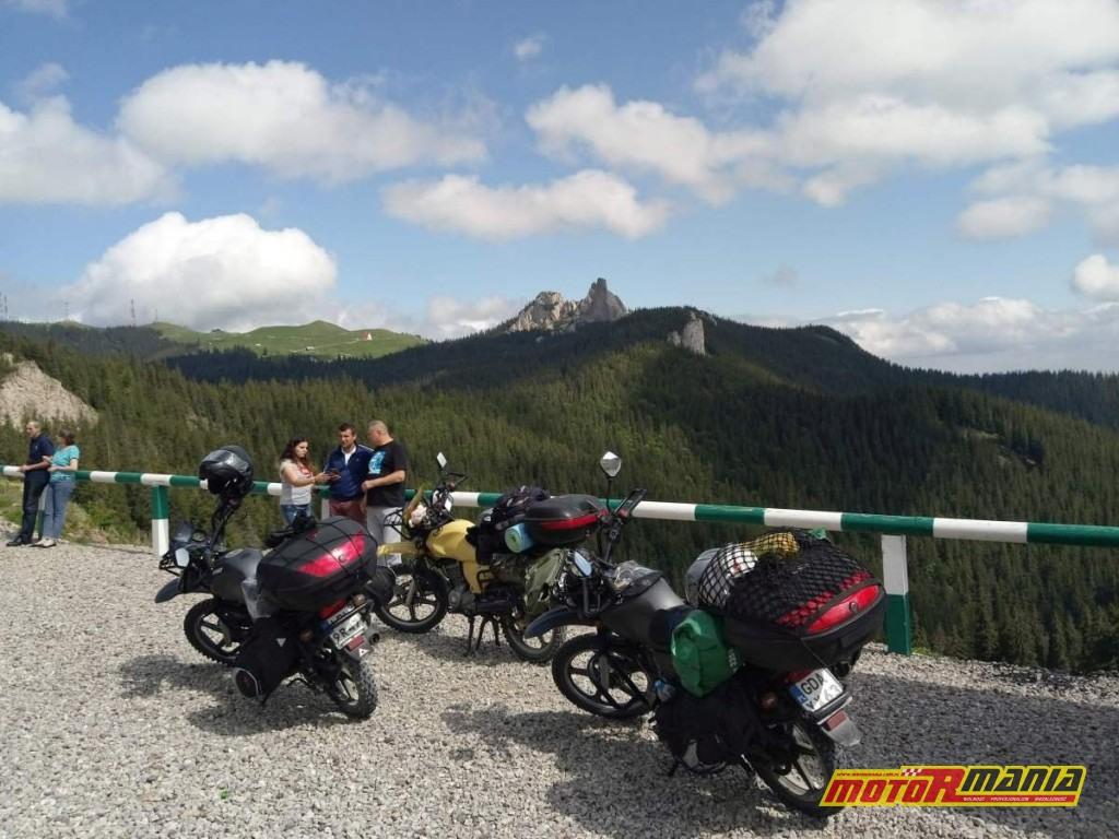 szczyt trasy Transrarau