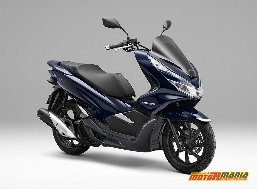 honda pcx hybrid japonia 2018