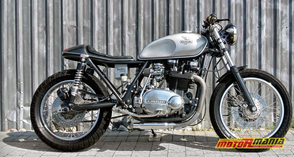 Ciekawy custom na bazie KZ750