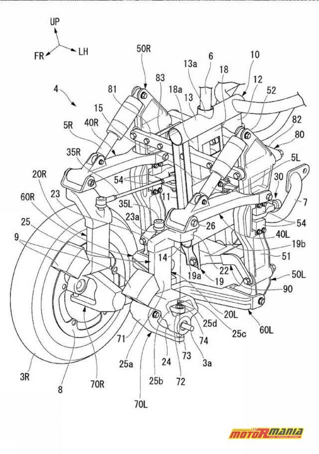 Honda motocykl trójkołowy 1