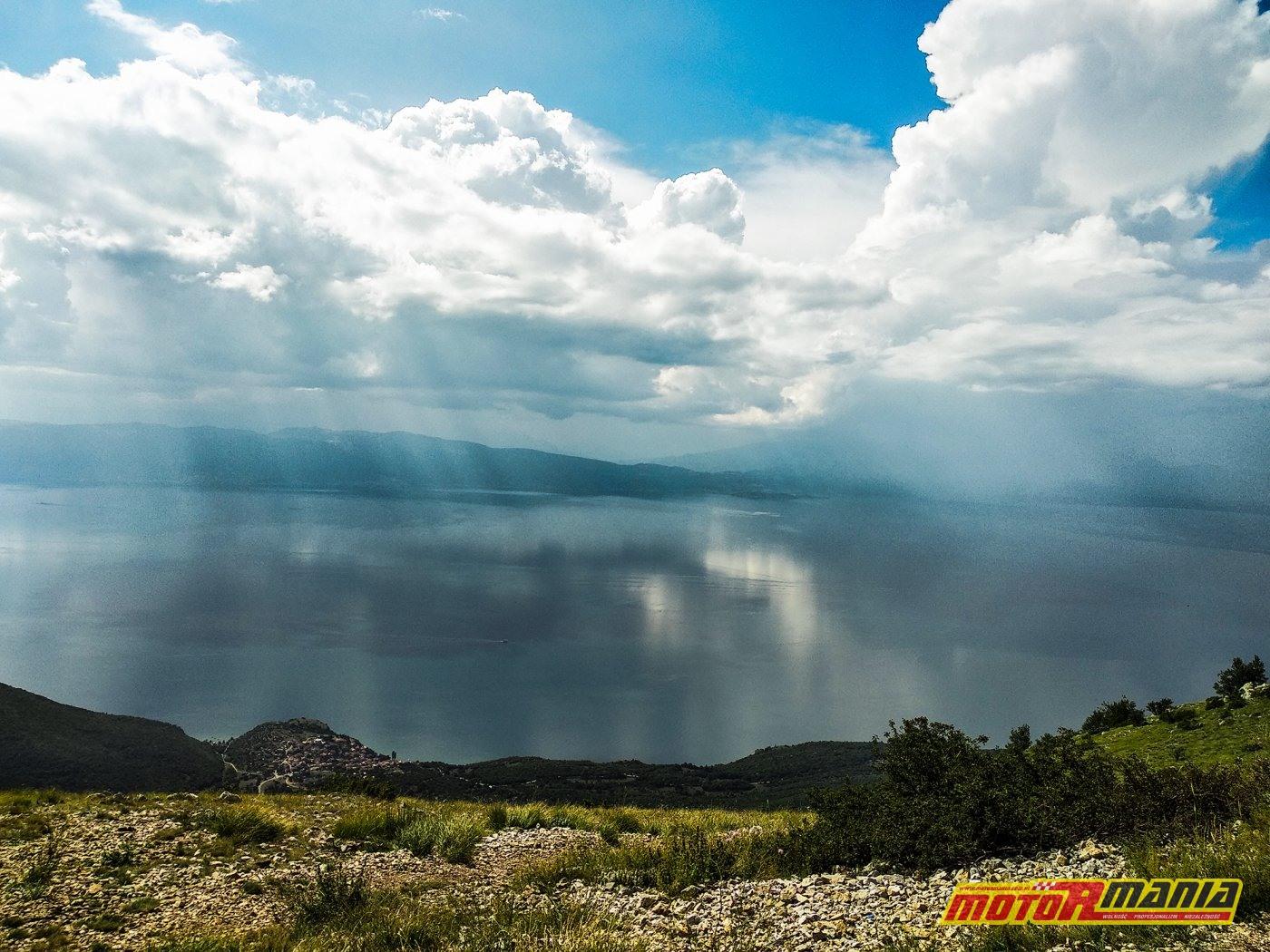 Jezioro Ochryd z drogi P504