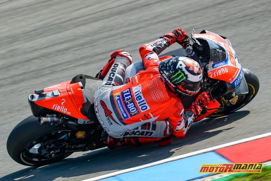 Ducati narzucało w Brnie tempo