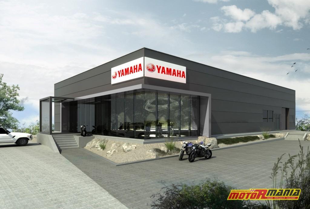Salon Yamaha Rzeszów- wizualizacja (2)