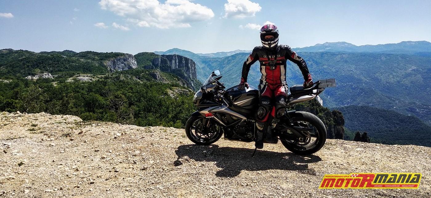 droga do granicy z Czarnogórą