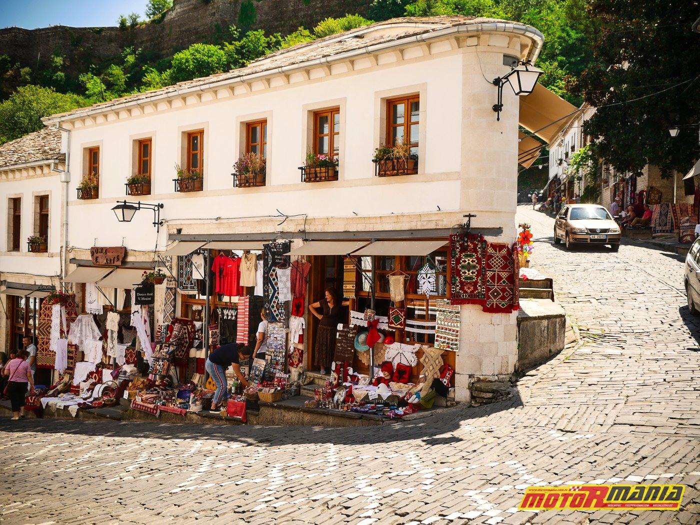 sklepiki w Gjirokastrze