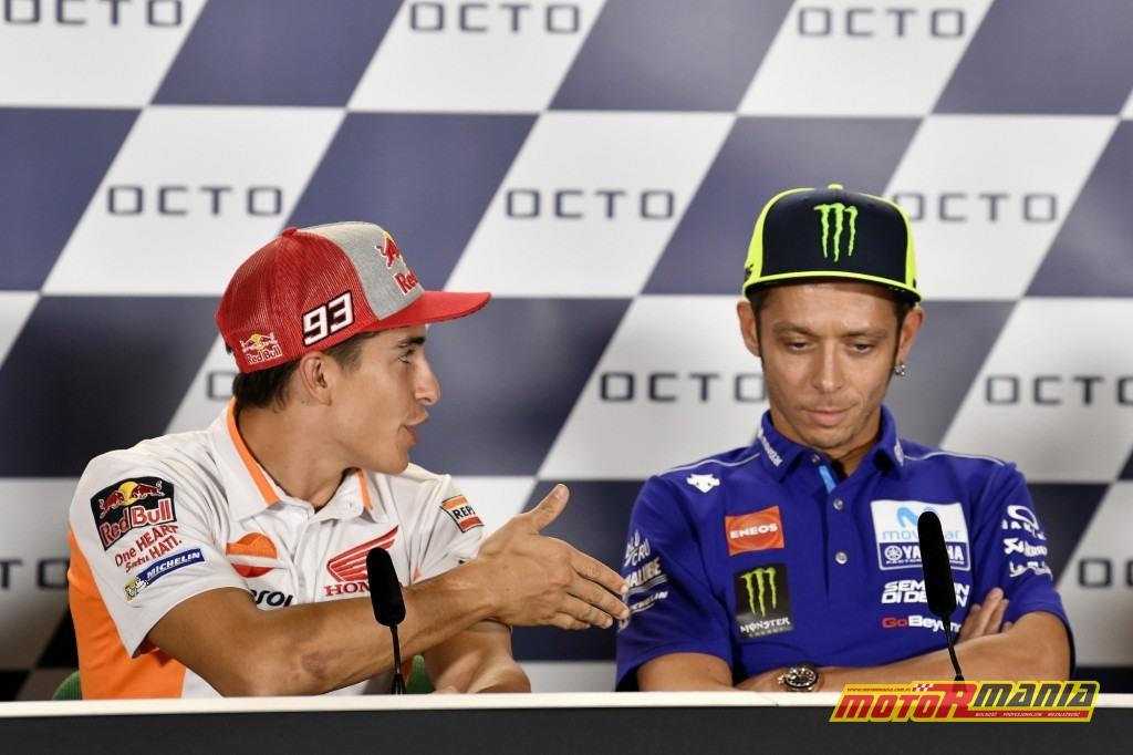 Zdjęcie z czwartkowej konferencji prasowej przed GP w Misano mówi wszystko. Foto: Dorna/MotoGP.com